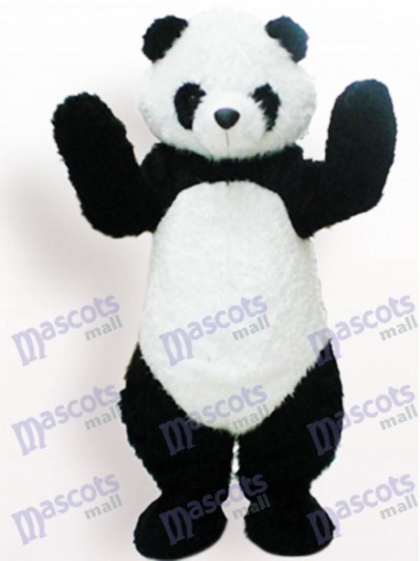 Black And White Panda Animal Adult Mascot Funny Costume