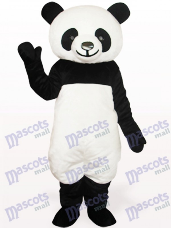 Black Panda Animal Adult Mascot Costume