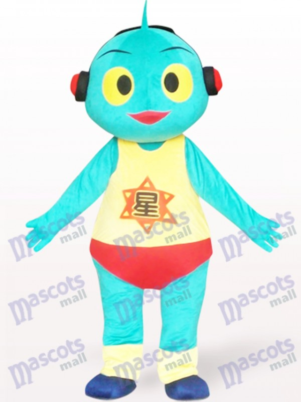Lovely Mars Doll Cartoon Adult Mascot Costume