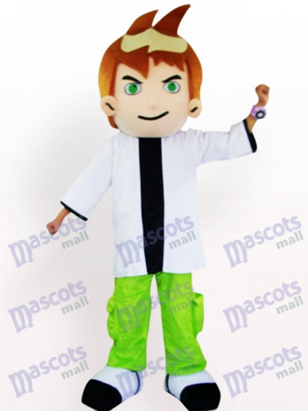 Cool Boy Cartoon Adult Mascot Costume