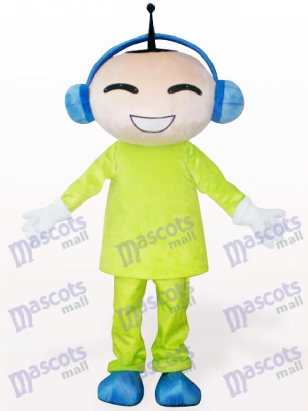 Antenna Doll Cartoon Adult Mascot Costume