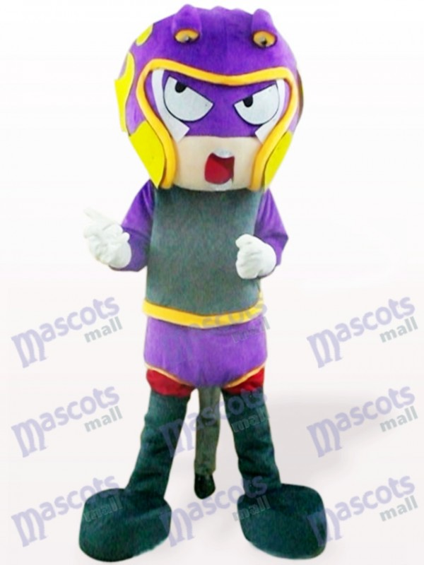 Sharp-Shooter Cartoon Adult Mascot Costume