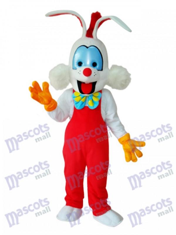 Easter Roger Rabbit Mascot Adult Costume