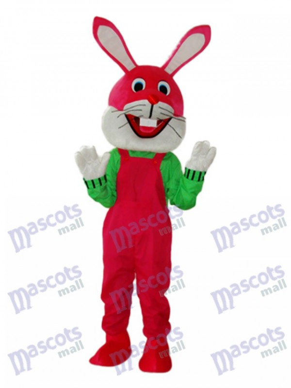 Easter Etiquette Rabbit Mascot Adult Costume