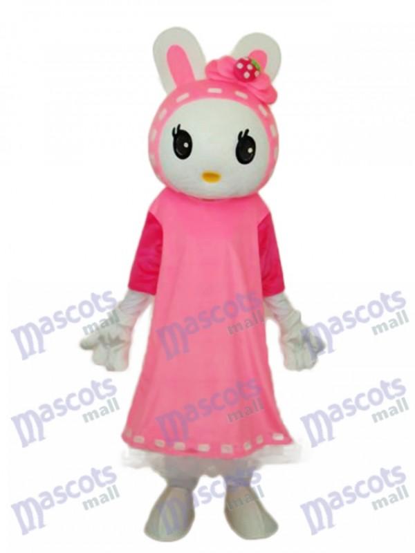 Easter Miss Rabbit Mascot Adult Costume