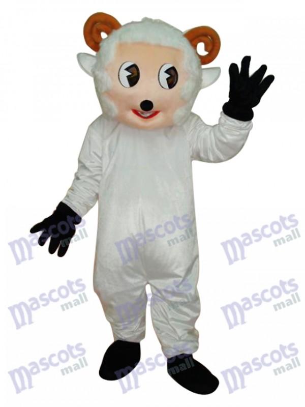 Little Sheep Mascot Adult Costume