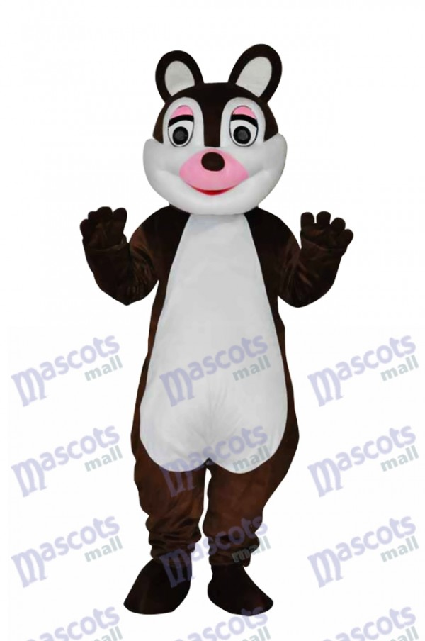 Cute Little Squirrel Adult Mascot Costume Animal