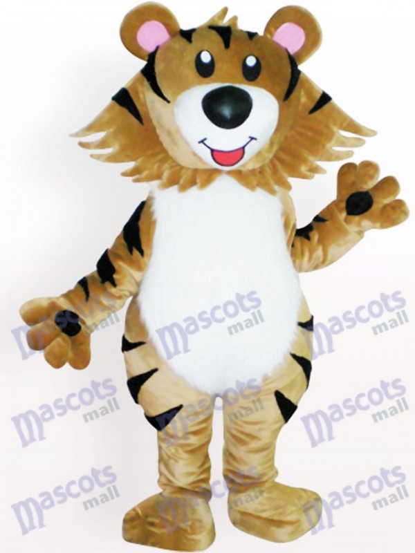 Tiger Animal Adult Mascot Costume