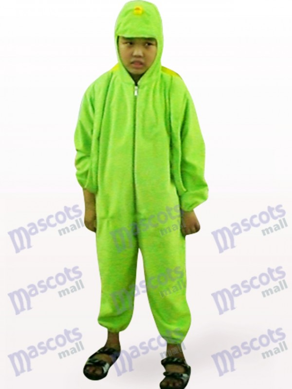 Green Tortoise Open Face Kids Animal Mascot Costume
