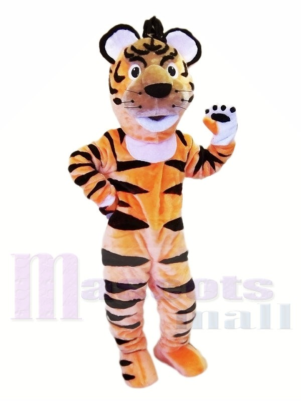 Happy Lightweight Animal Tiger Mascot Costumes