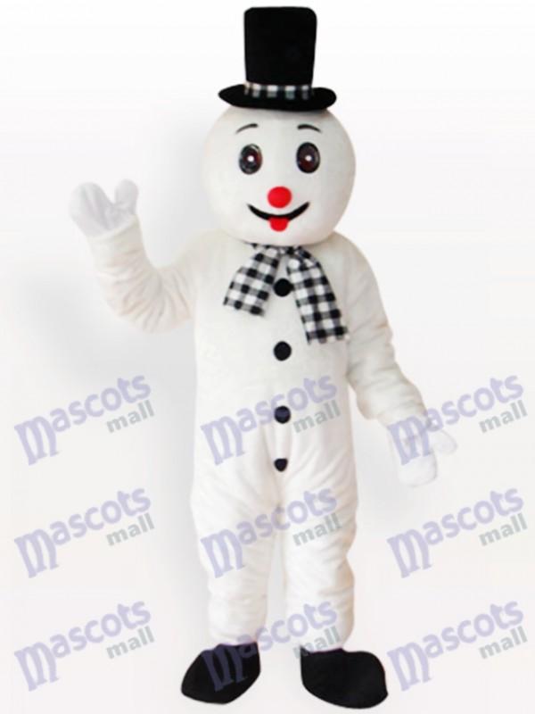 Snowman Christmas Xmas Adult Mascot Costume